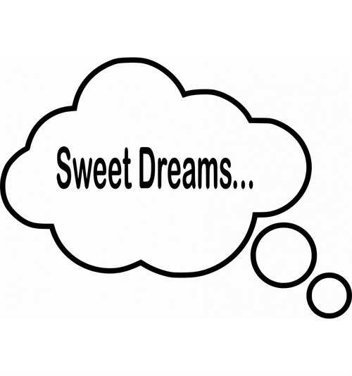 "Wall Goodie - ""Sweet dreams"" Boble"